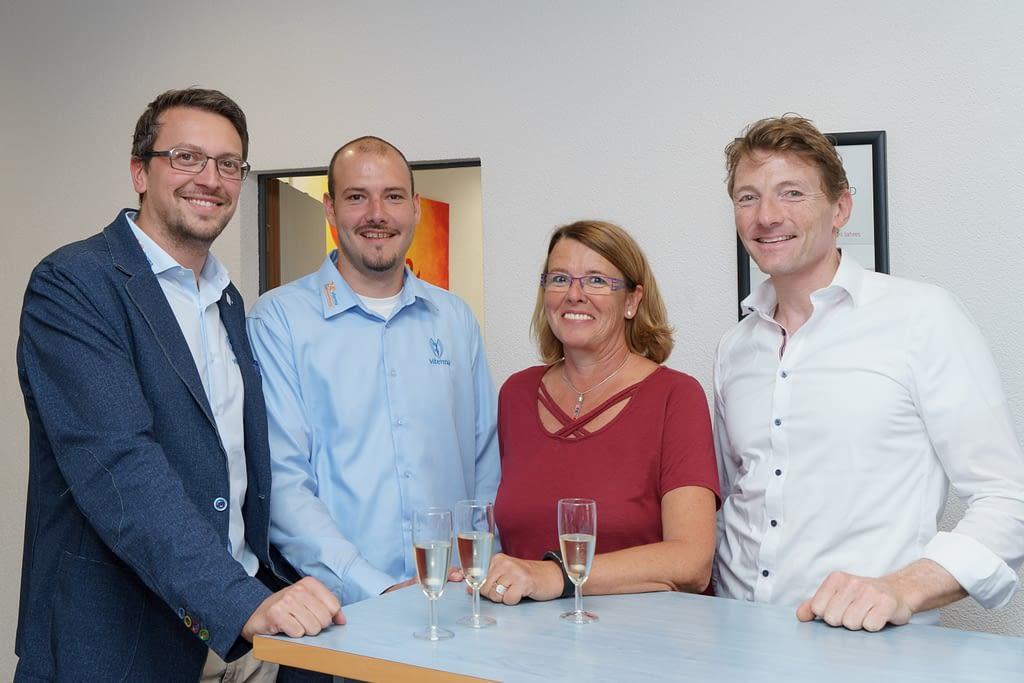 Vertragsverlängerung Viterma Franchisepartner Familie Meggle