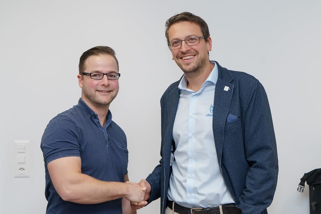 Vertragsverlängerung Viterma Franchisepartner Jens Barthel