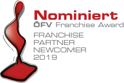 ÖFV-Franchise-Award 2019 Partner-Newcomer