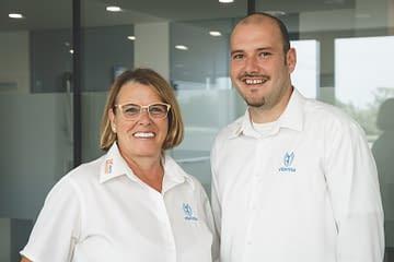 Franchise-Partner Sigrid und Benjamin Meggle